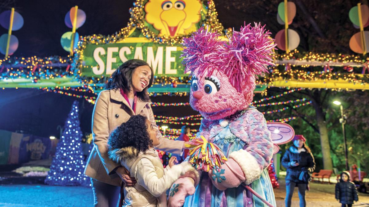 A Very Fury Christmas at Sesame Place