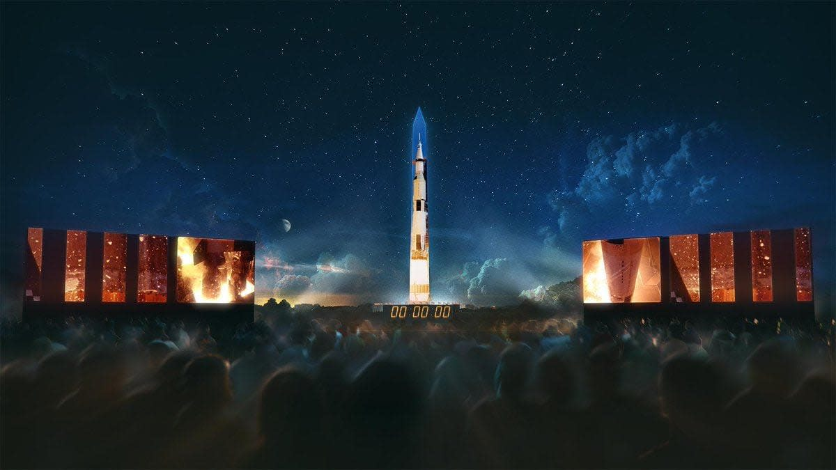 Apollo 11 Projection - DC