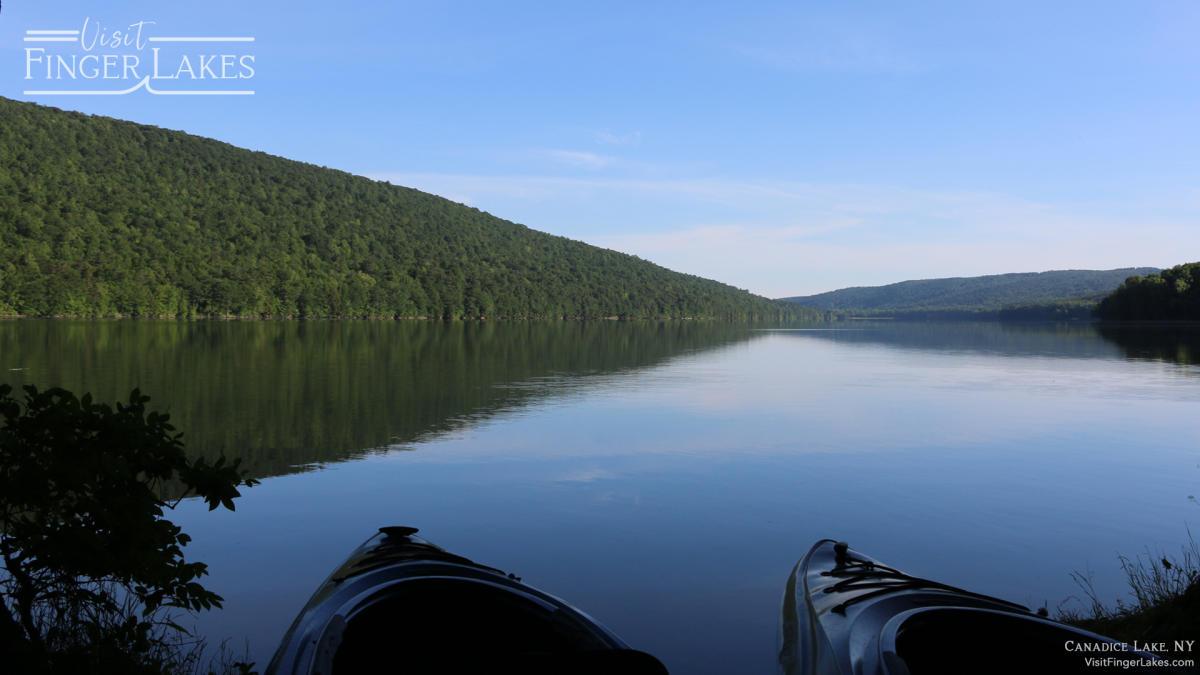 Canadice Lake Zoom Background