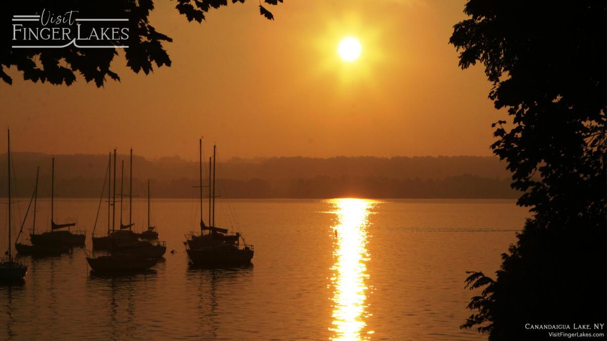 Canandaigua Lake Zoom Background