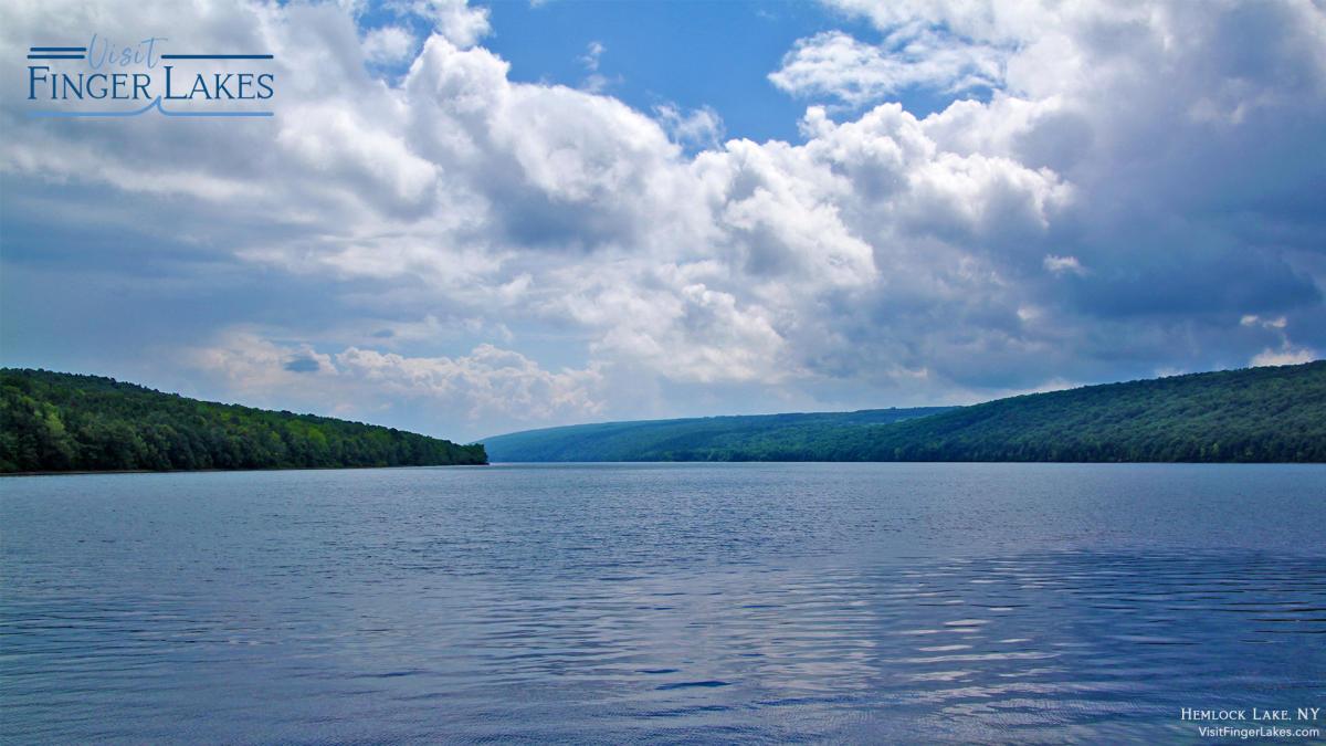 Hemlock Lake Zoom Background