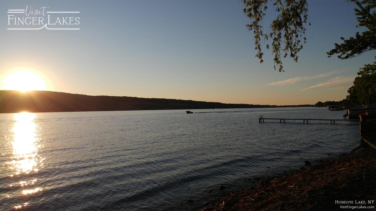 Honeoye Lake Zoom Background