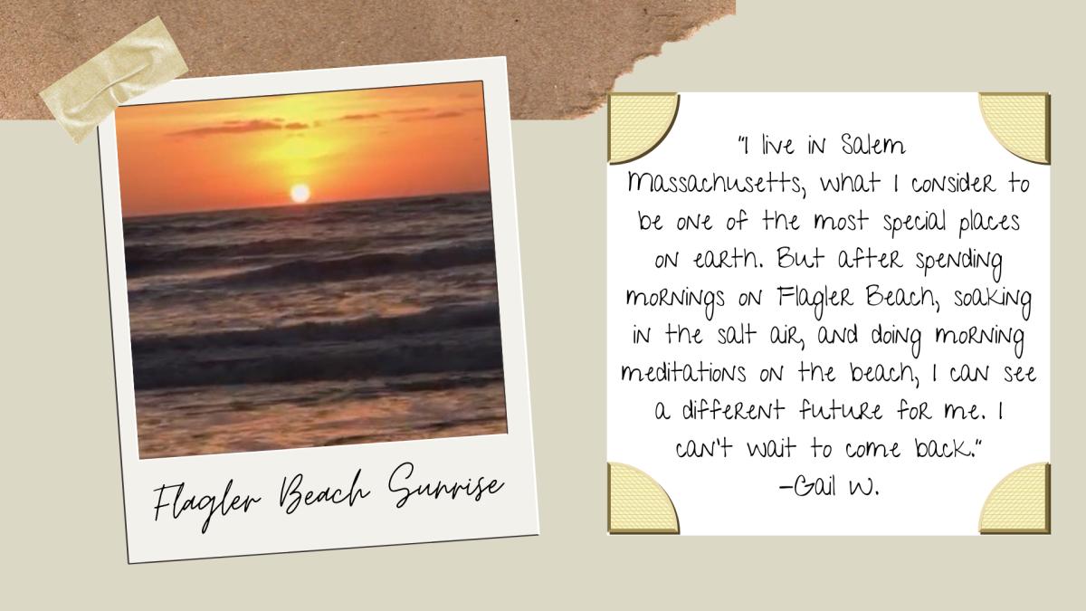 A Flagler Beach Sunrise in Palm Coast, FL