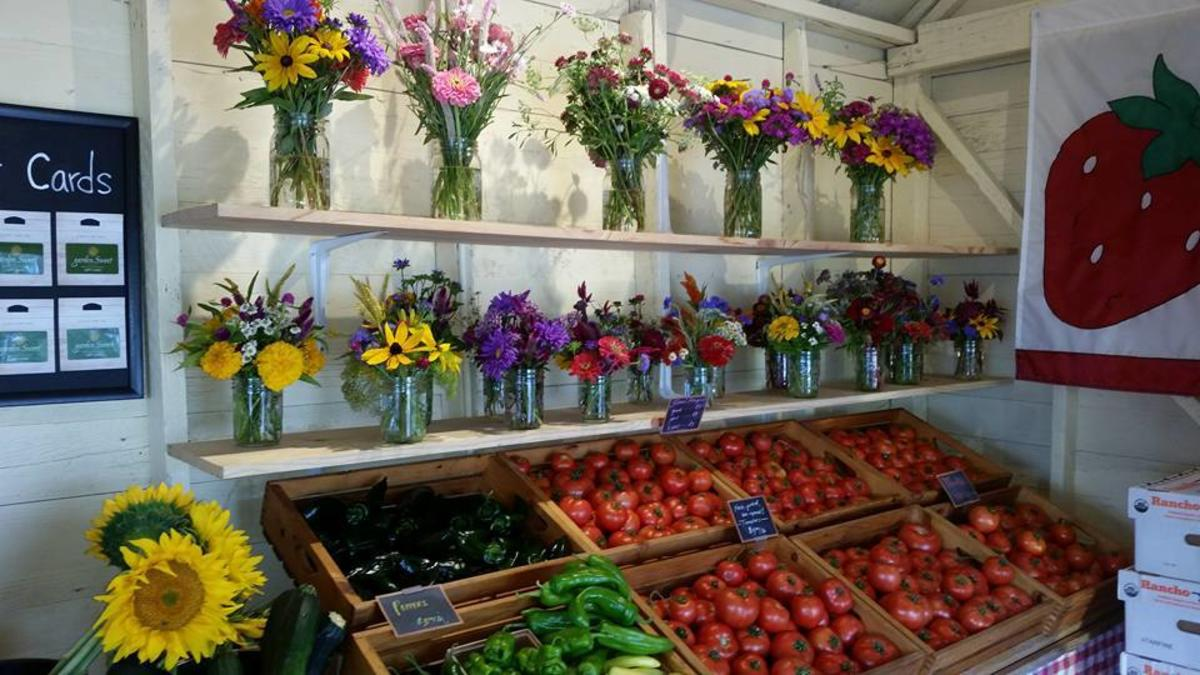 Garden Sweet Fruit Display flowers