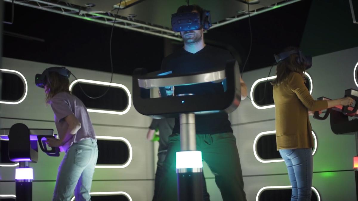 Hyperdeck immersive virtual reality experience at Hershey's Chocolatetown