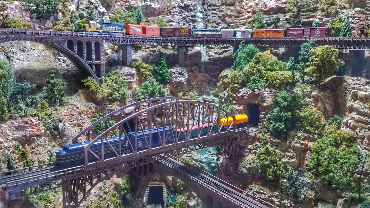 Model Train Tomball