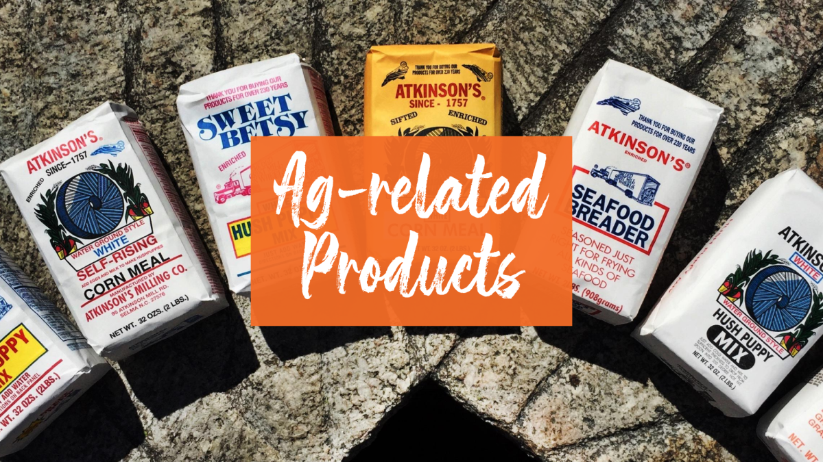 Enjoy local ag-related products for sale  in Johnston County, North Carolina.