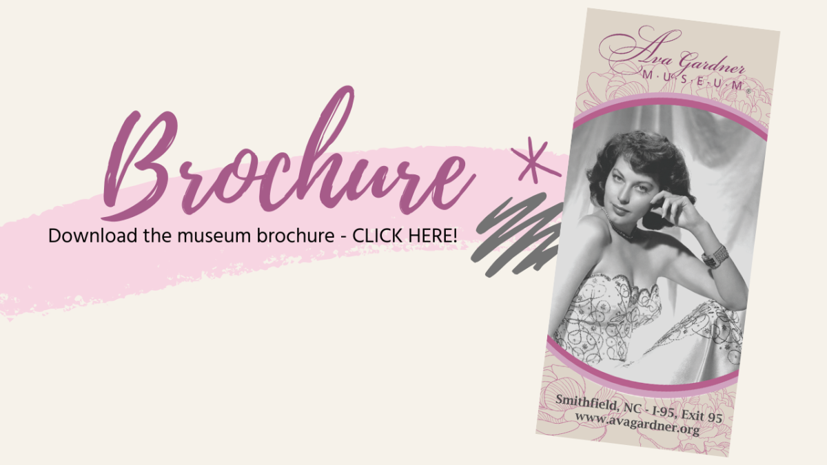 Download Ava Gardner Museum Brochure graphic.