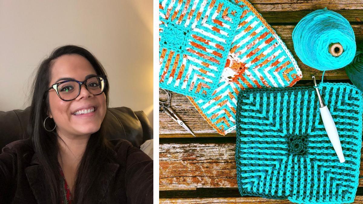 Luz Higdon of Crochet Société
