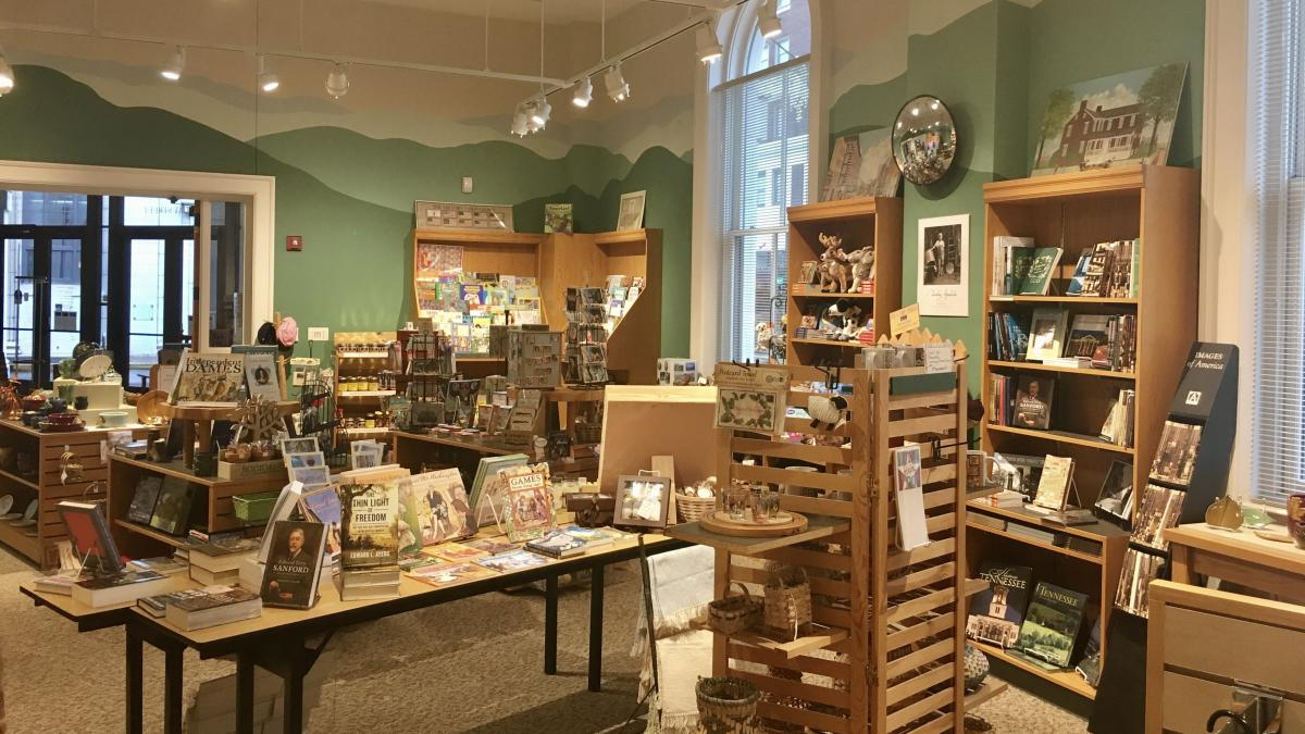 East Tennessee History Center Gift Shop