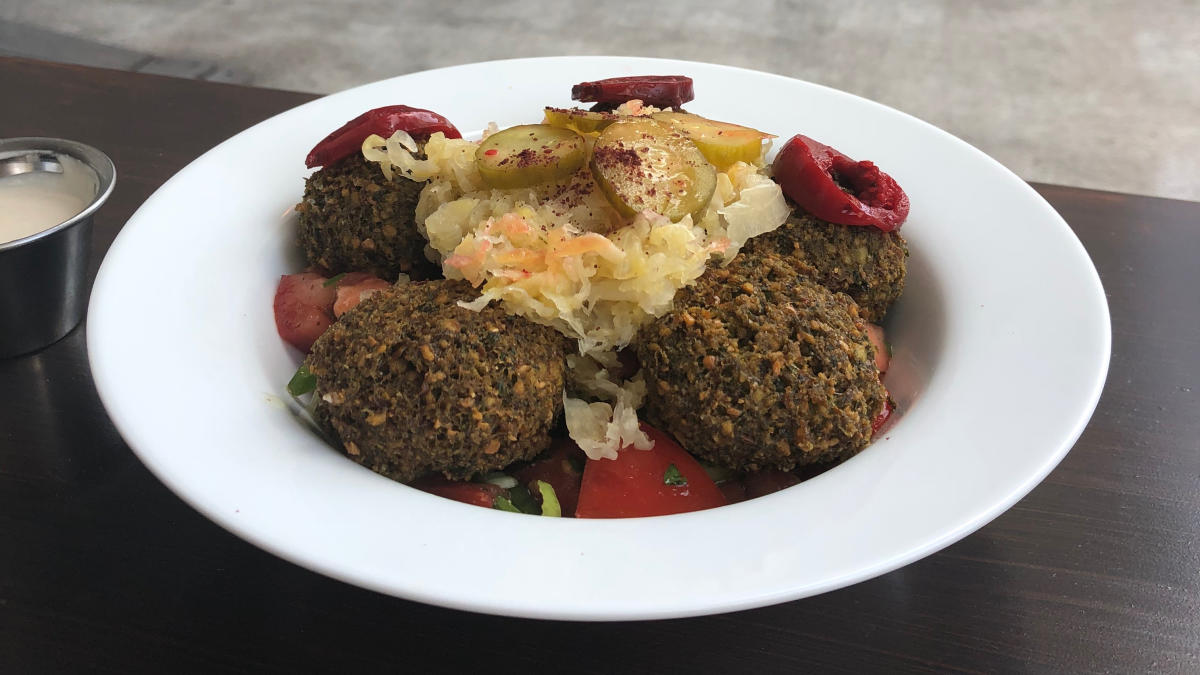 Falafel Bowl at Kopita
