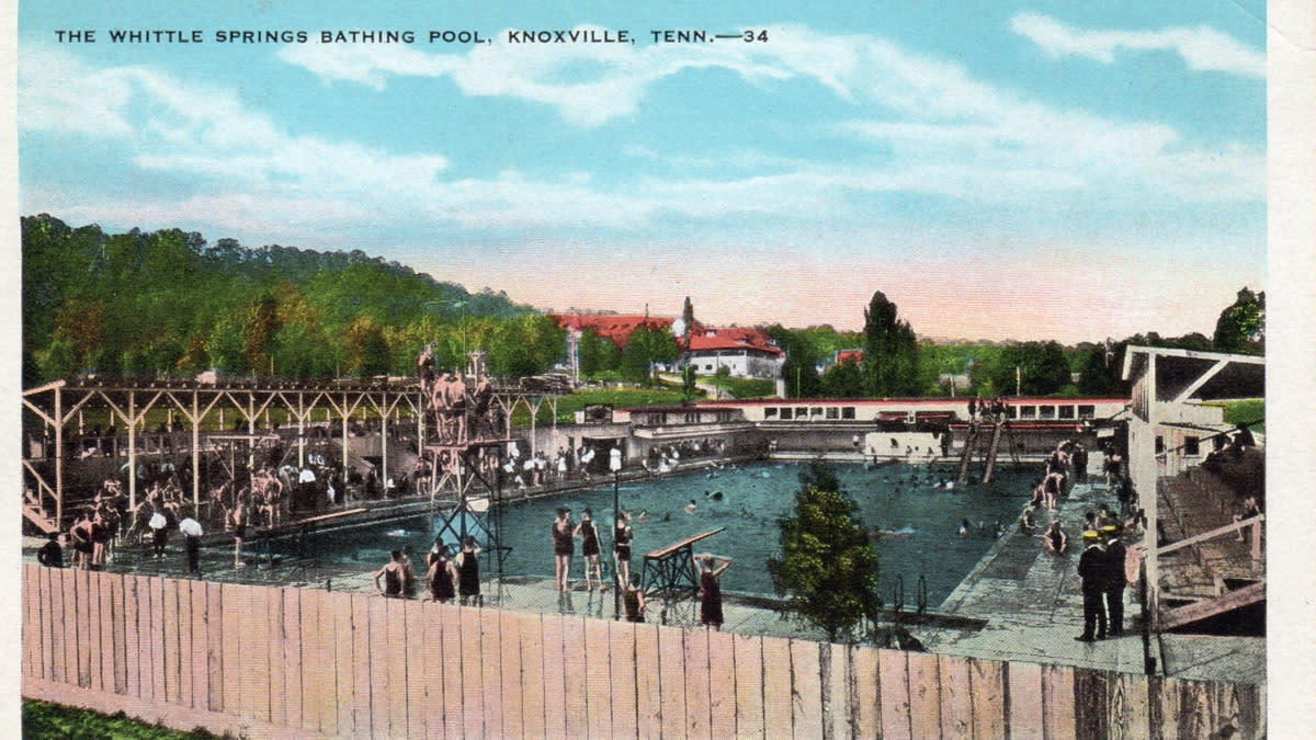 ​Whittle Springs Pool courtesy of Knoxville History Project