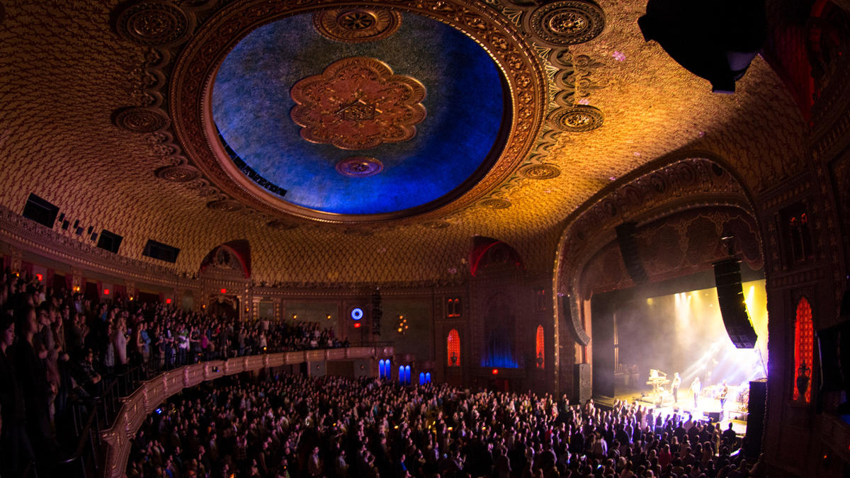 Inside the Tennessee Theatre