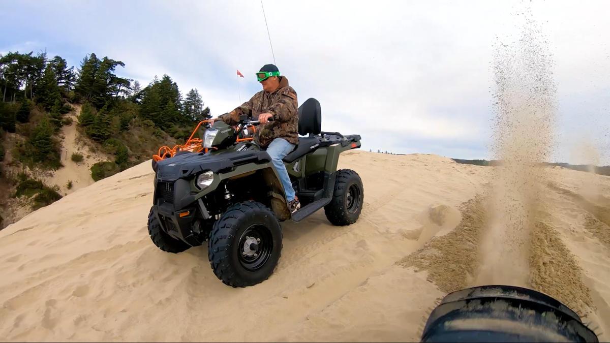 OHV on the Oregon Dunes by Eugene, Cascades & Coast