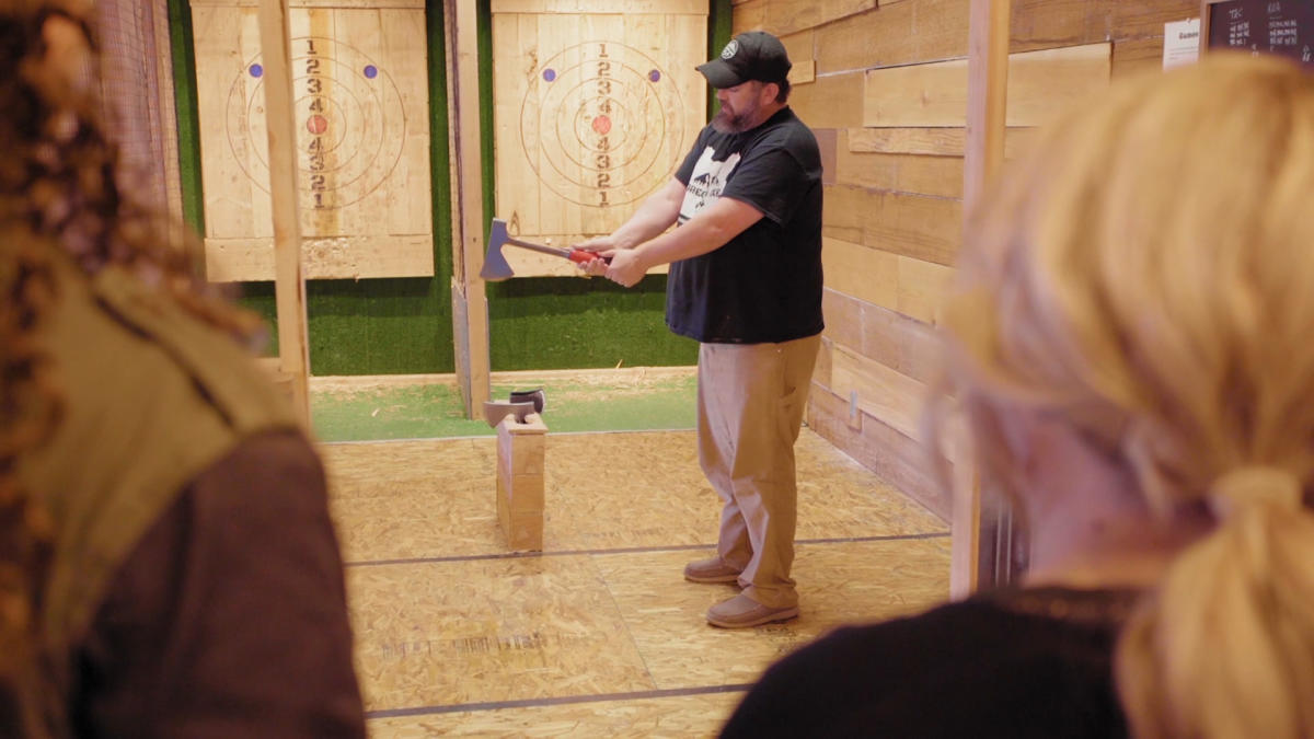Axe Throwing at Oregon Axe in Springfield, OR