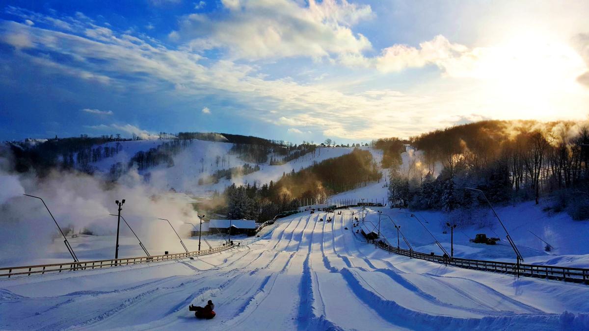 Seven Springs Snow Tubing