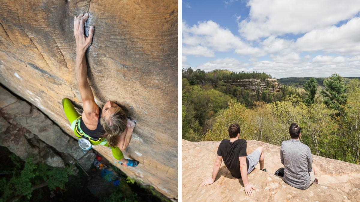Climbing and Hiking at Red River Gorge