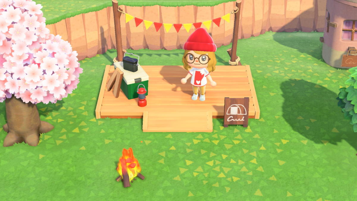Animal Crossing Campground