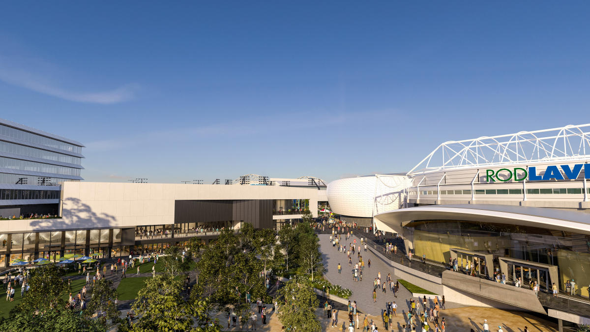 'CENTREPIECE at Melbourne Park' - M&OP's New Function & Media Centre