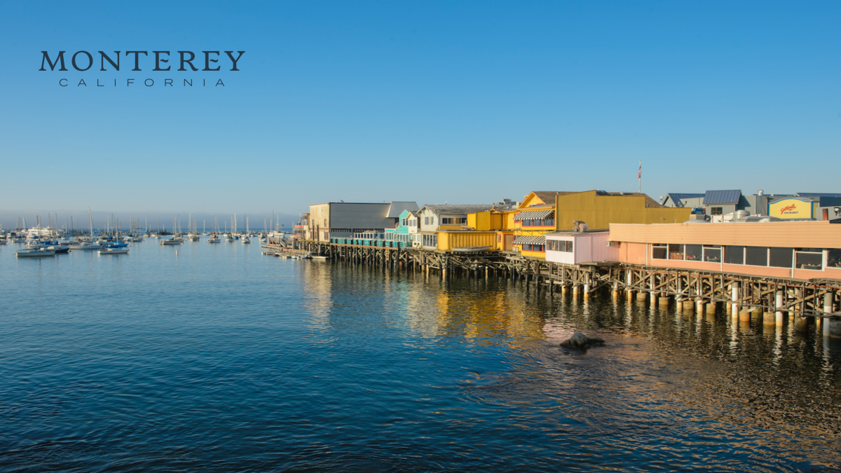 Zoom Background Monterey, CA