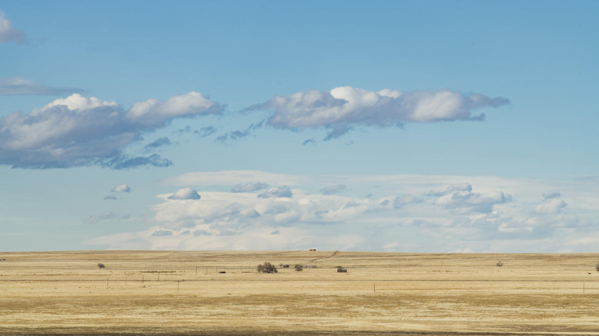 The high plains outside of Roy, New Mexico