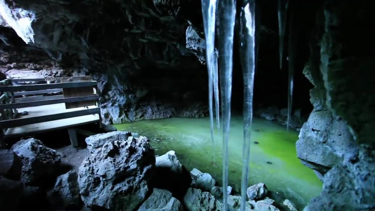 Video Thumbnail - youtube - Ice Caves and Bandera Volcano