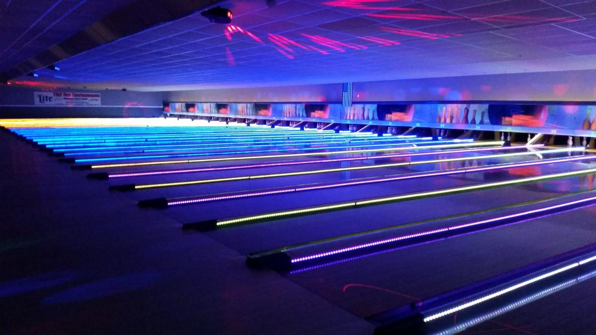 Glow-n-Bowl at Revs