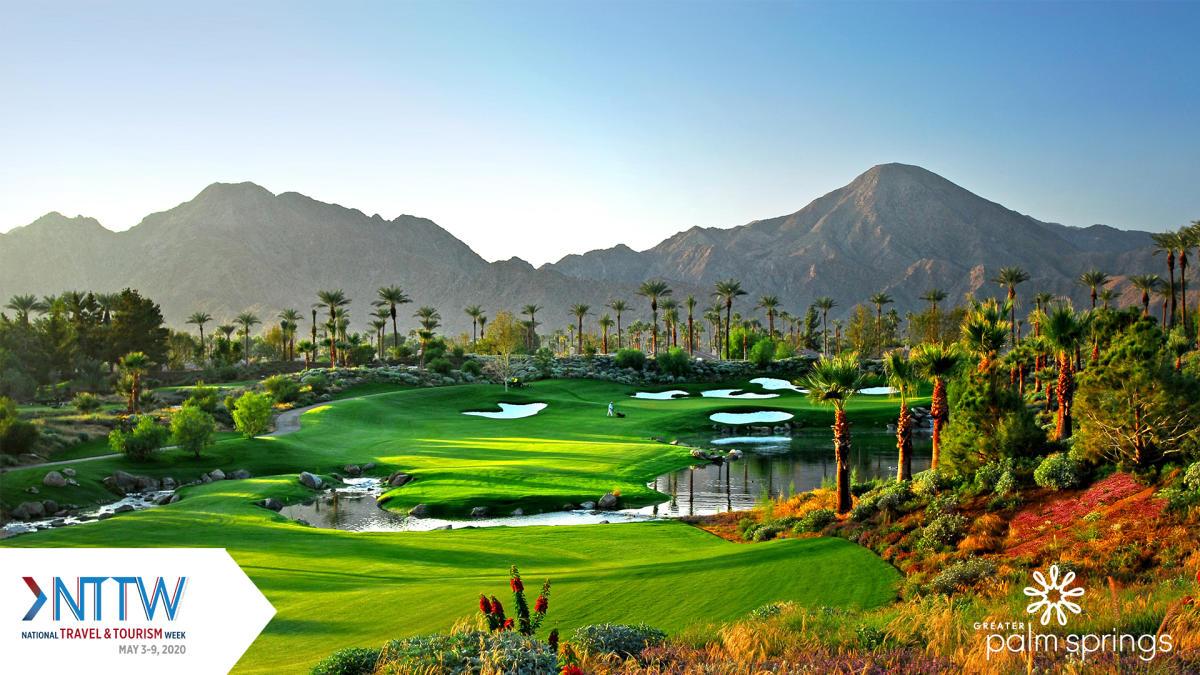 Golf backdrop