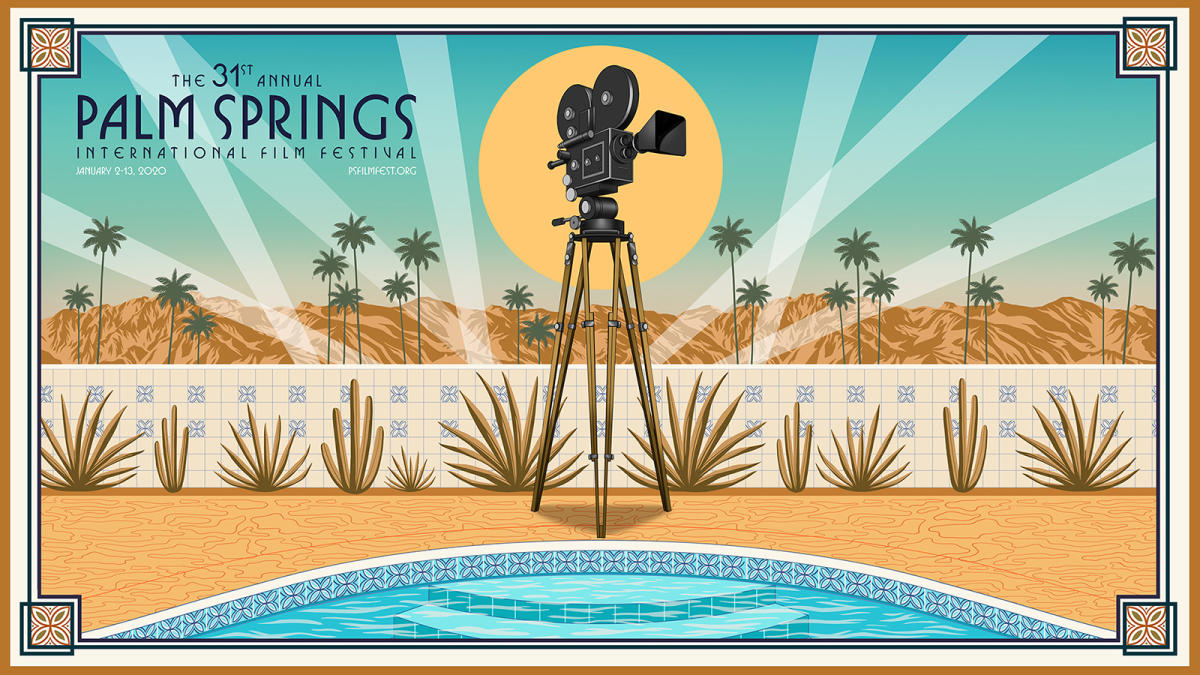 2020 Palm Springs Film Festival Poster