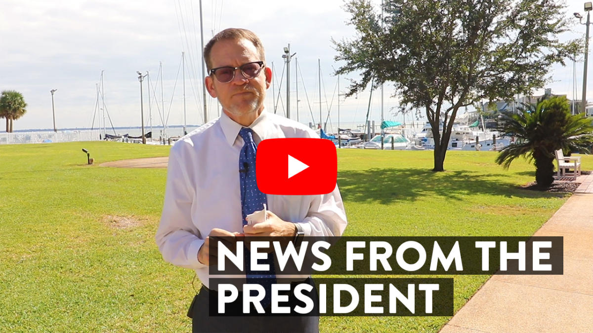 News from the President