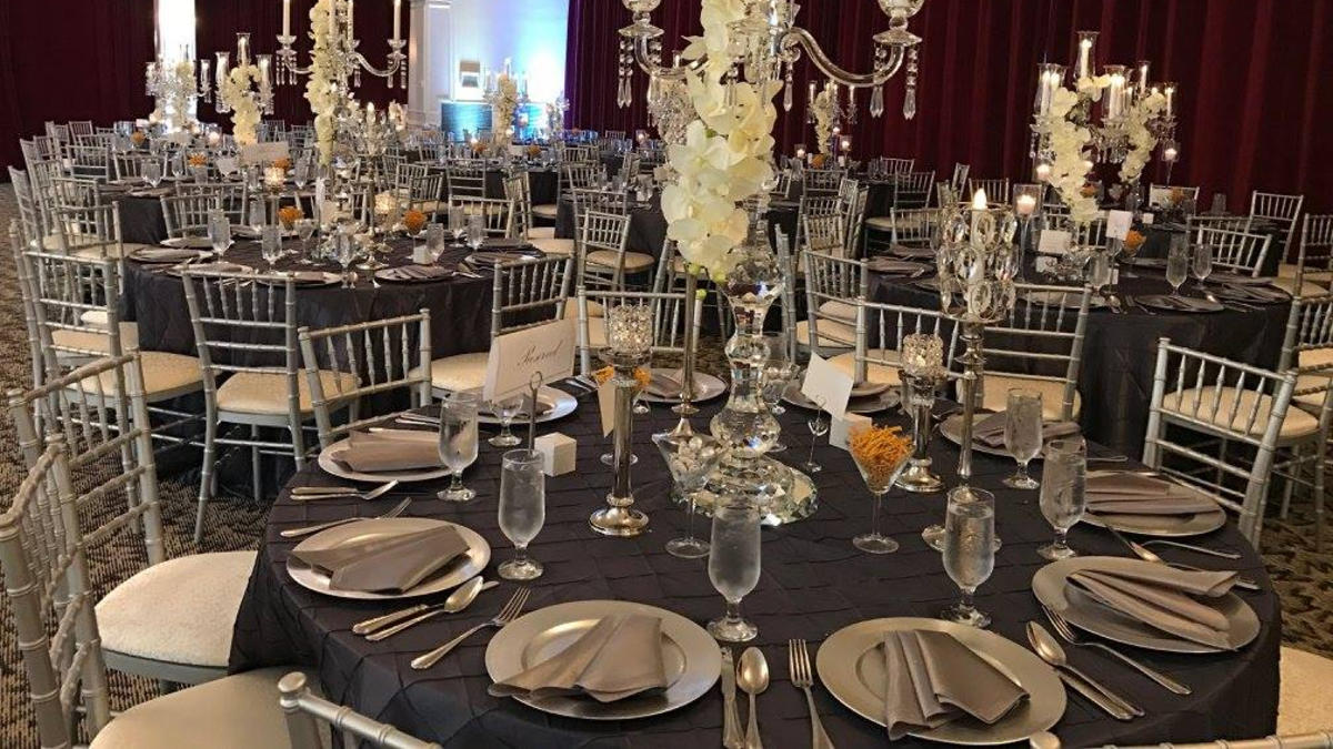 Foxchase wedding and event setup interior