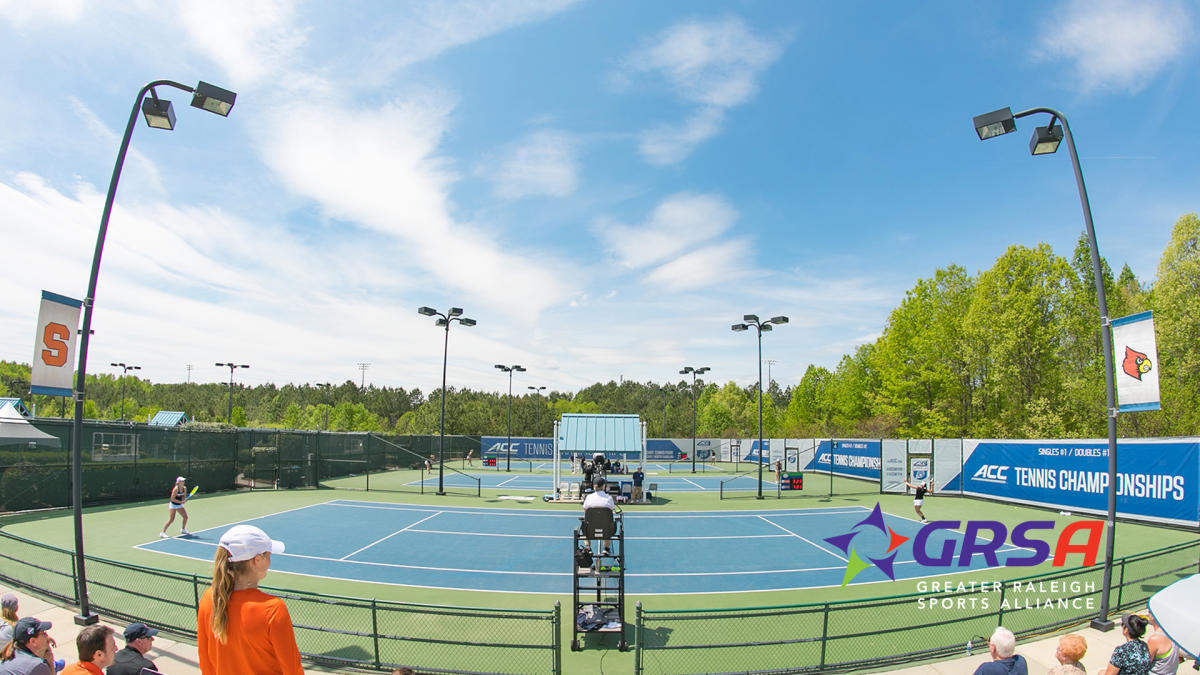 Cary Tennis Park Zoom Background