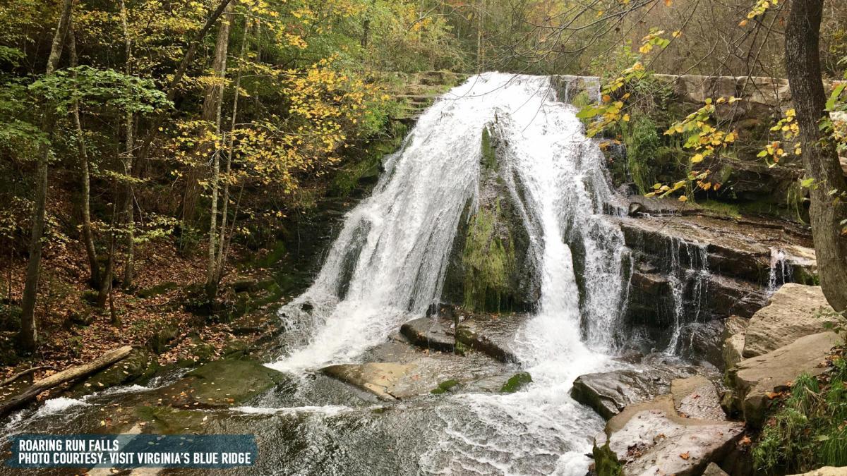 Roaring Run Falls - Botetourt County