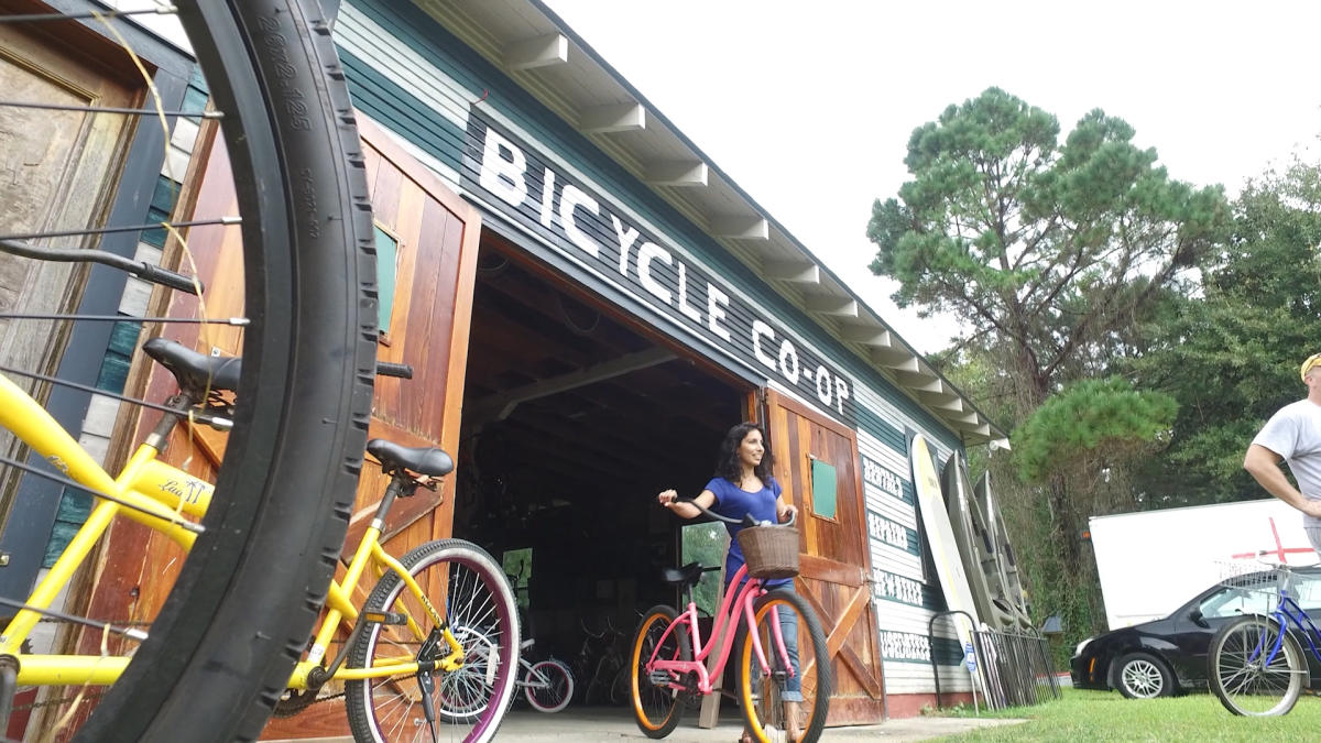 Brooks' Bike Shop's bikes to ride the Tammany Trace