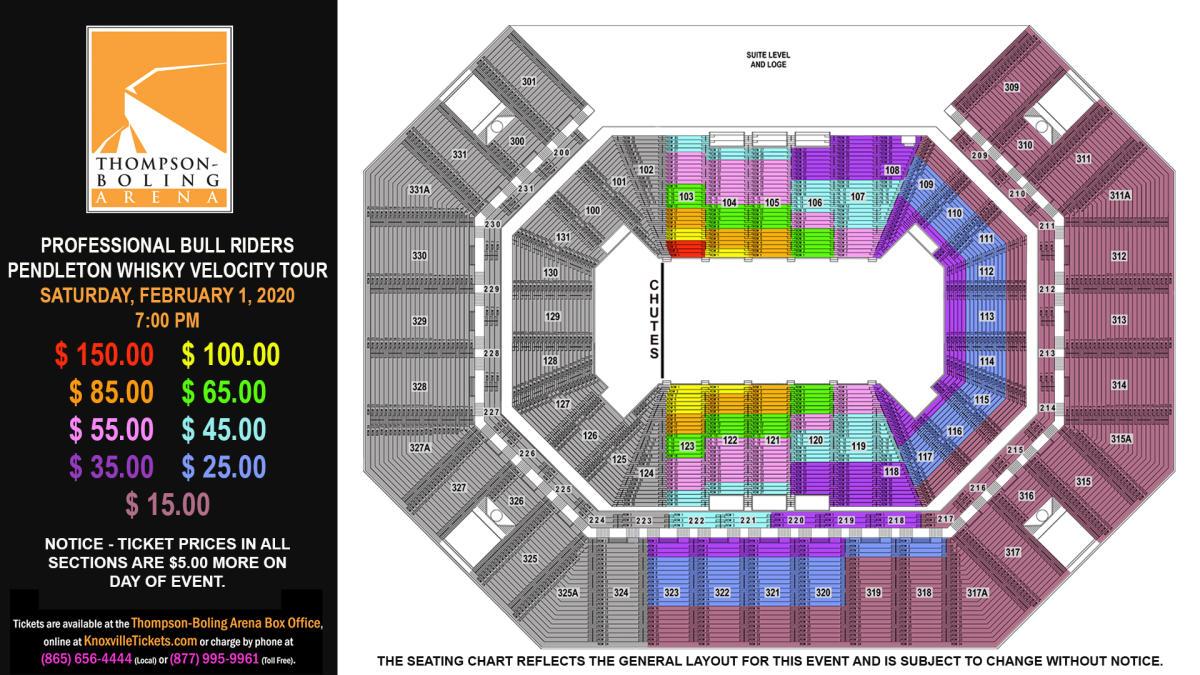 PBR 2020 Seat Map