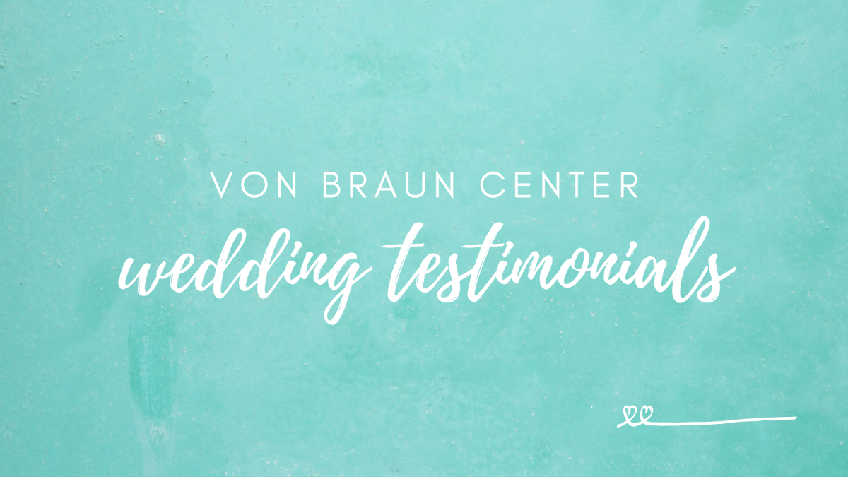 Wedding Testimonials Graphic