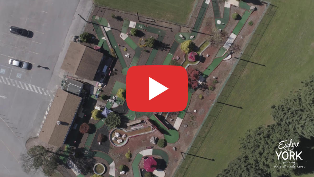 Video Thumbnail - youtube - Memorial Park Aerial Video - York County, PA