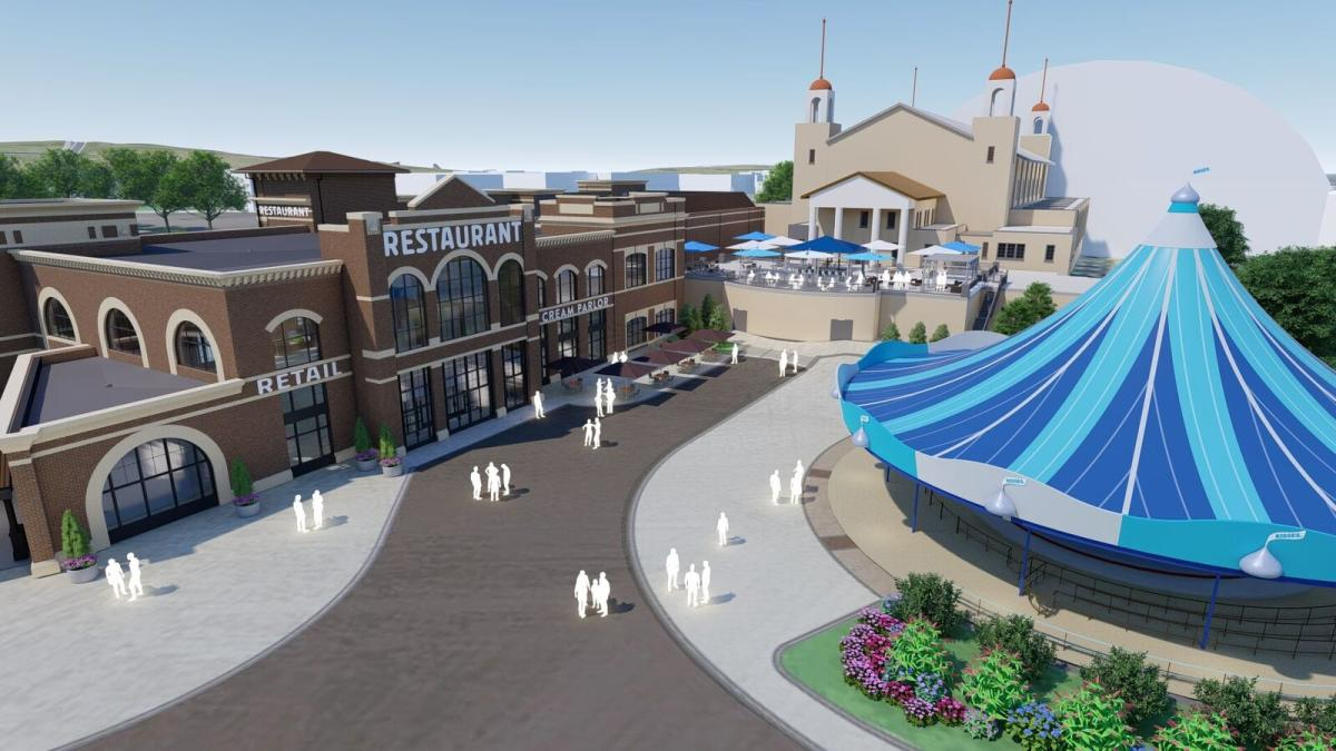 Chocolatetown Shops Rendering 2020