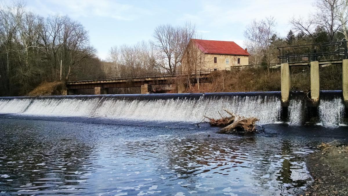 Prallsville Mill in Stockton, NJ