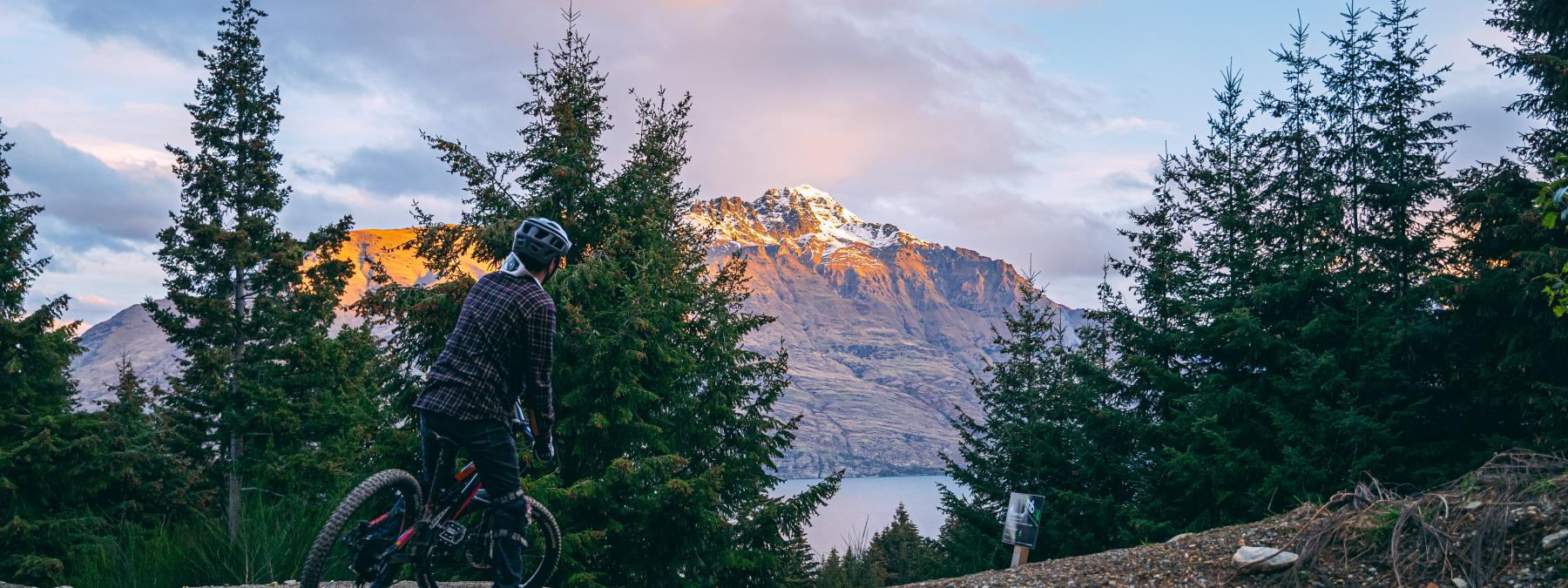 Queenstown Mountain Biking in Spring