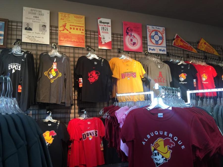 Albuquerque Dukes Store