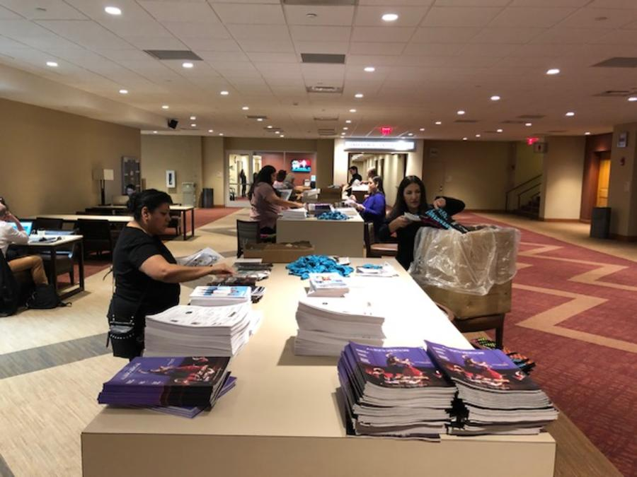 Regional Dance America Bag-Stuffing