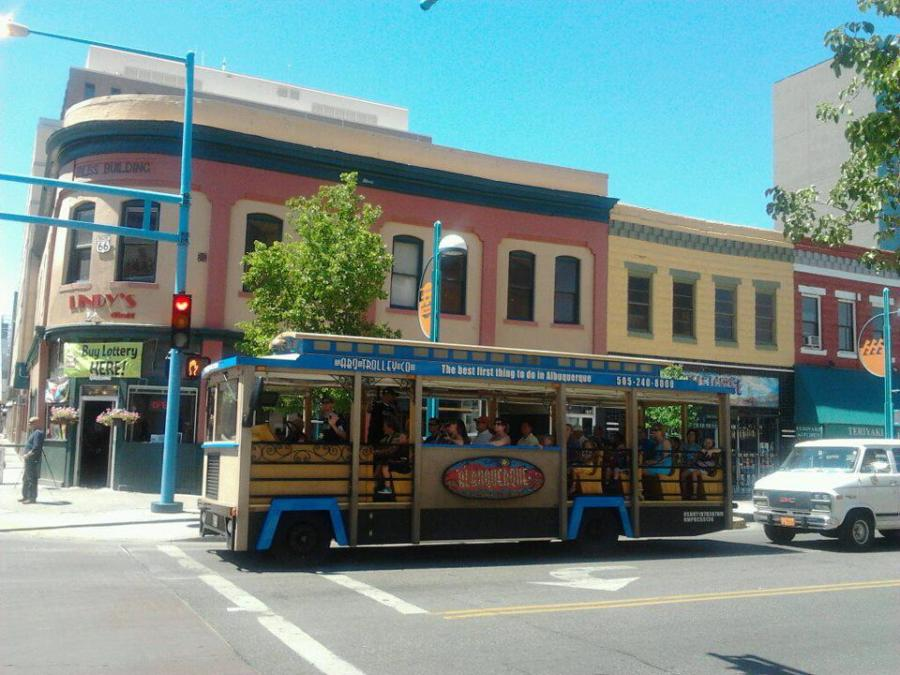 ABQ Trolley Co City Tour Downtown
