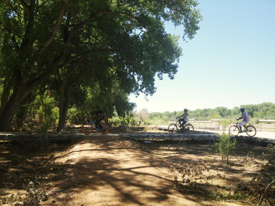 Bike Ride Bosque Trail, Routes Bike Tours