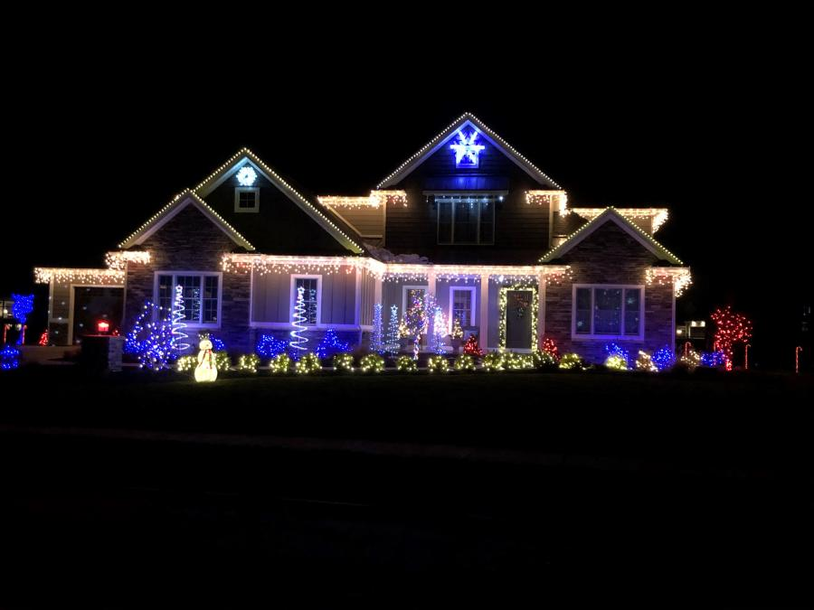 2996 Black Goose Blvd. - Best Christmas Lights Display