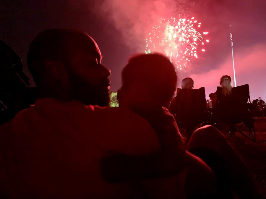 Ditto Landing Fireworks Zenovia