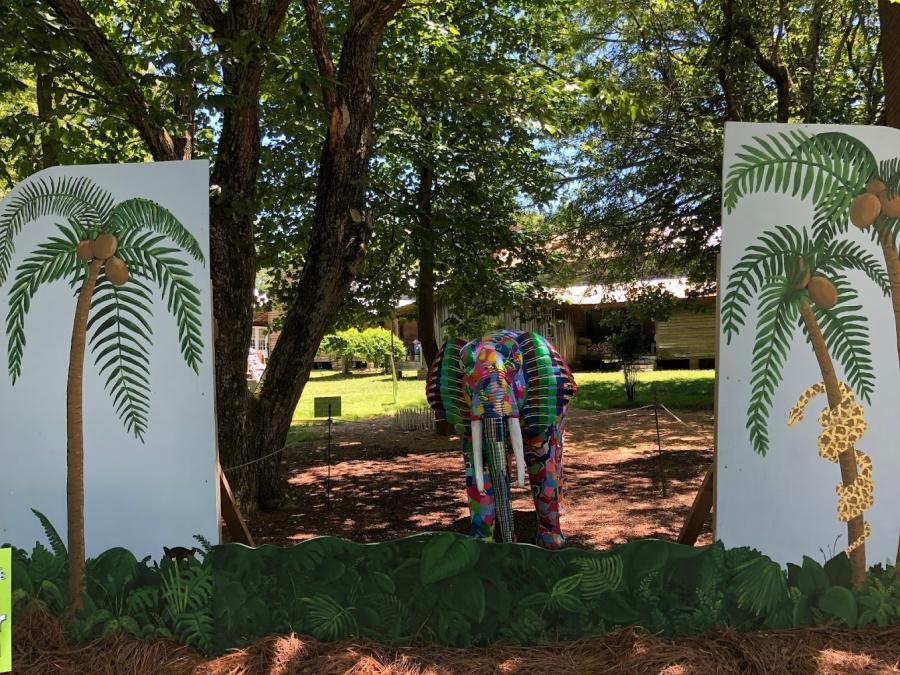 Fun and whimsy await at Burritt on the Mountain's Whimsical Woods in Huntsville, AL.