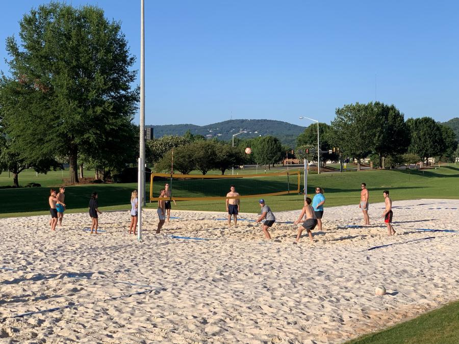 John Hunt Park Sand Volleyball