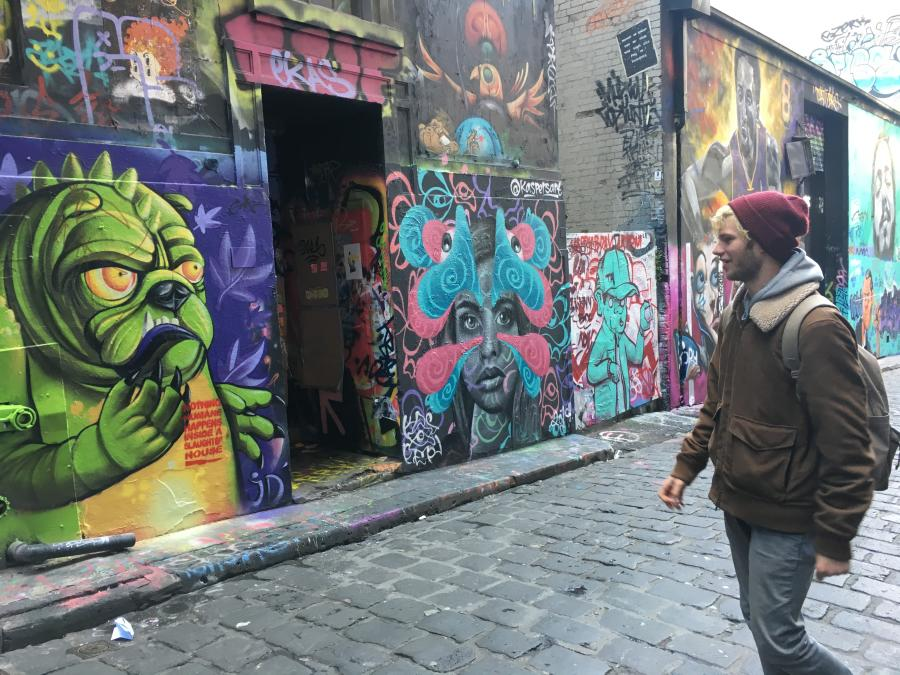 Street art tour - Blender Studios