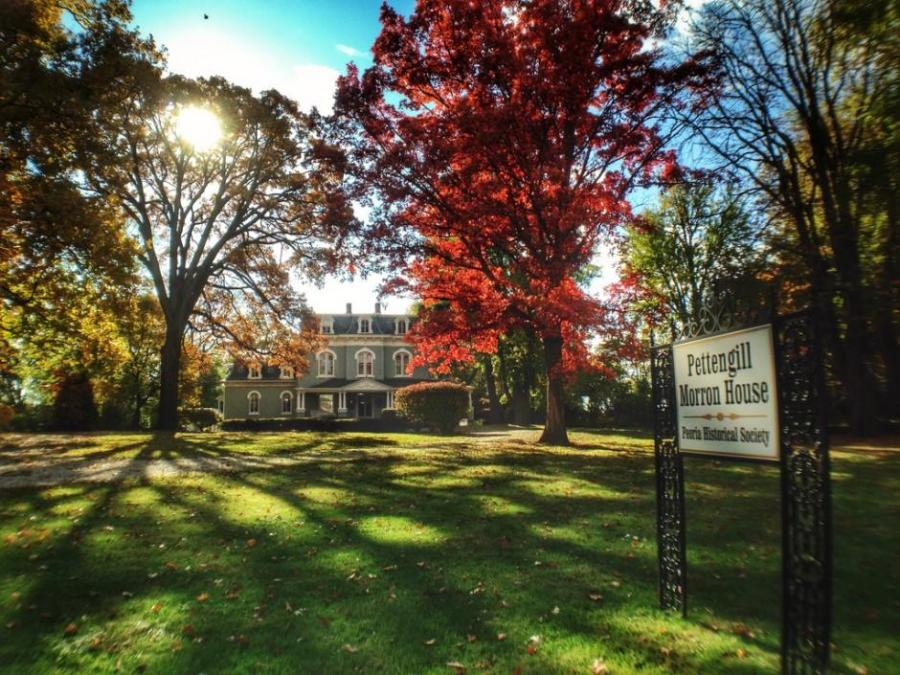 Pettengill Morron House (Peoria Historical Society)